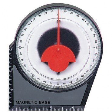 Dial Gauge Angle Finder Magnetic Protractor with Conversion Chart by - Angle Dial
