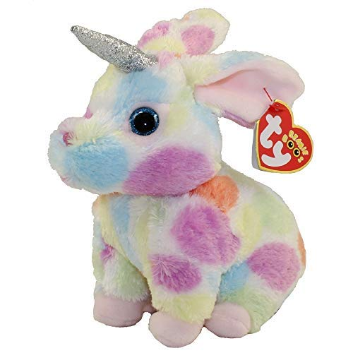 T&Y Ty Beanie Babies Begonia - Bunny with Horn 6