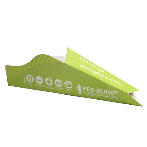 PeeBuddy - Disposable, Portable Female Urination Device for Women - 10 Funnels