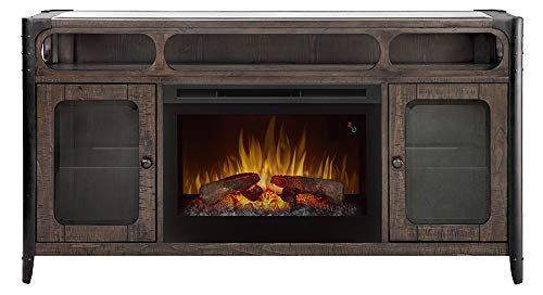 (DIMPLEX Paige Media Console with Firebox and Logs)