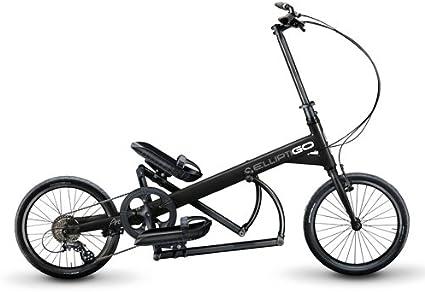 elliptigo Arc 8 – La Primera Del Mundo Al Aire Libre Bicicleta Elíptica, Negro: Amazon.es: Deportes y aire libre