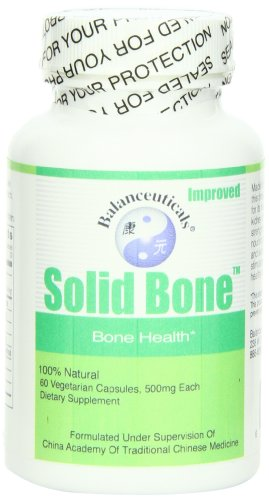 Balanceuticals Solid Bone Dietary Supplement Capsules, 500 mg, 60-Count Bottle
