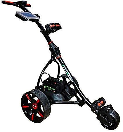 Carro eléctrico de Golf Pro Kaddy Modelo S1T2NL Negro: Amazon.es: Deportes y aire libre