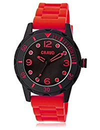 Crayo Unisex CRACR2203 Splash Black Watch