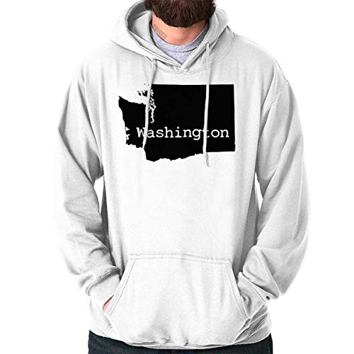 Washington State Shirt State Pride USA T Novelty Gift Ideas Hoodie ()