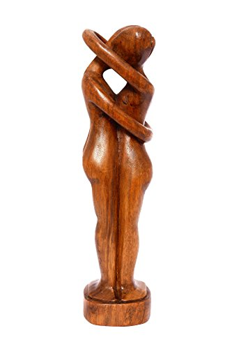 "G6 Collection 12"" Wooden Handmade Abstract Sculpture Statue Handcrafted - Everlasting Love - Art Gift Decorative Home Decor Figurine Accent Decoration Artwork Handcarved Everlasting Love from G6 Collection"