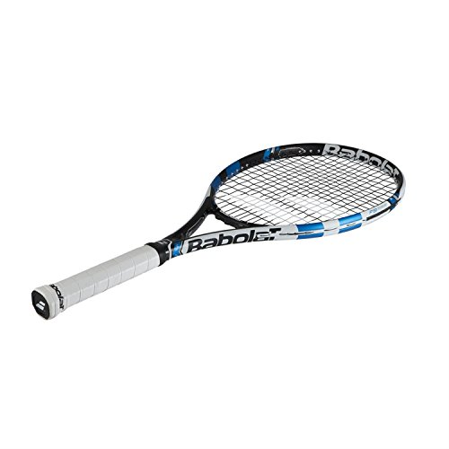 Babolat pure drive lite blue white midplus tennis racquet with a pure line tennis bag or - Babolat pure drive lite tennis racquet ...