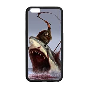 Shark iPhone 6 Case,Great White Shark Underwater Animal Design Hard Case Cover for Apple iPhone 6 4.7