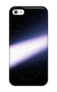 Flexible Tpu Back Case Cover For Iphone 5/5s - Comet - Space