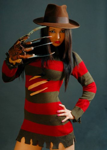 Ladies Sexy disfraz de Freddy Krueger M (UK 12): Amazon.es ...