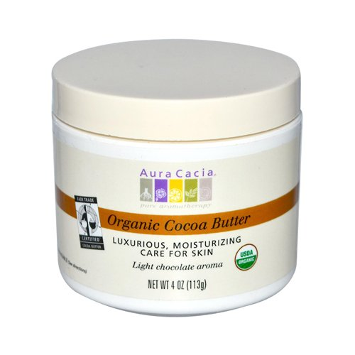 Wholesale Aura Cacia Organic Cocoa Butter - 4 oz, [Health & Beauty, Skin Care]