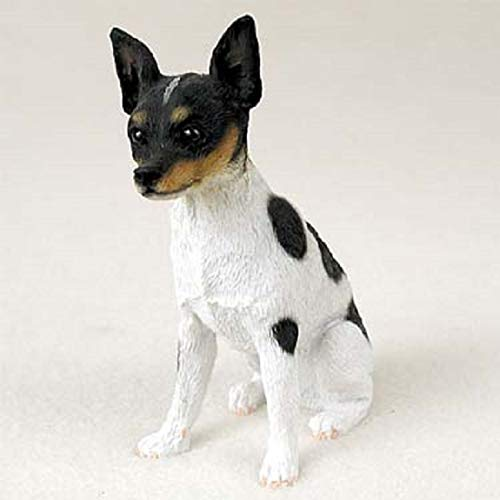 Conversation Concepts Rat Terrier Original Dog Figurine (4in-5in)