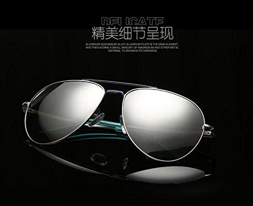 Bleu Lennon en style rond retro lunettes vintage de métallique inspirées cercle Vert soleil polarisées du et TTOqwU8