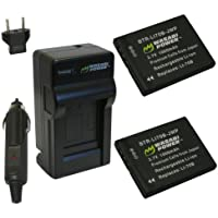 Wasabi Power Battery and Charger Kit for Olympus LI-70B, FE-4020, VG-110, VG-120, VG-130, VG-140, VG-145, VG-160