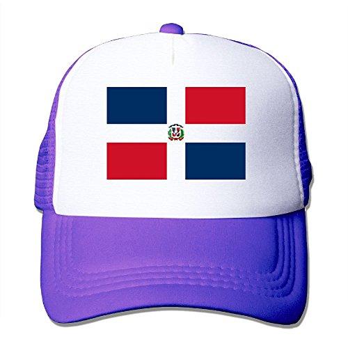 Sunshade Alabama (KJDS Adult Unisex Flag of The Dominican Republic Mesh Cap with Adjustable Trucker Cap)
