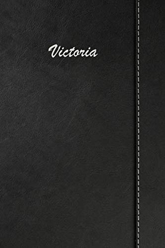 Victoria: Blank Cookbook Recipes & Notes featuring 120 pages 6