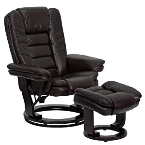Awesome Best Recliner With Ottoman In 2019 Review Even The Rock Ncnpc Chair Design For Home Ncnpcorg