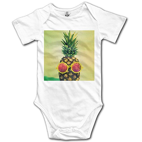 Shineshing Baby Short Sleeves Triangle Romper Bodysuit Onesies Infant Toddler Sunglass Pineapple Climbing Clothes - Baby Walmart Sunglasses