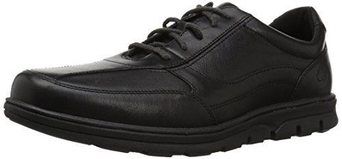 Timberland Men's Huntington Drive Oxford, Black Full Grain,10 C US