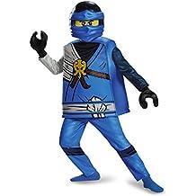 Jay Deluxe Ninjago Lego Costume, Small/4-6