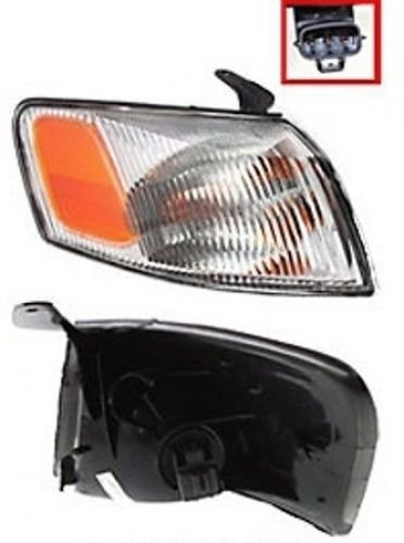 Discount Starter and Alternator TO2531126 Replacement Headlight Fits Toyota Camry Passenger Side Plastic Lens With Bulbs - Toyota Camry Passengers Side Corner