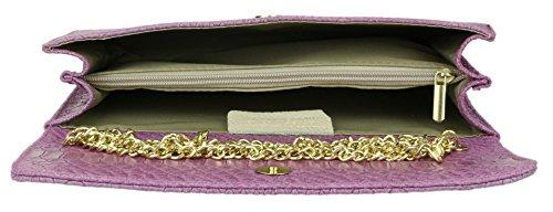 Clair femme Girly Handbags Violet Pochettes q4ww7IH