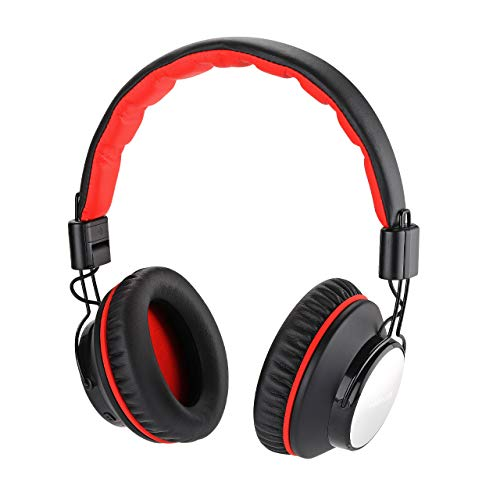 Active Noise Cancelling Bluetooth Headphones for Travel Airplane, INSERMORE Over Ear Wireless/Wired Headphones w/Mic, Hi-Fi Stereo Headset for PC/Cell Phones/TV