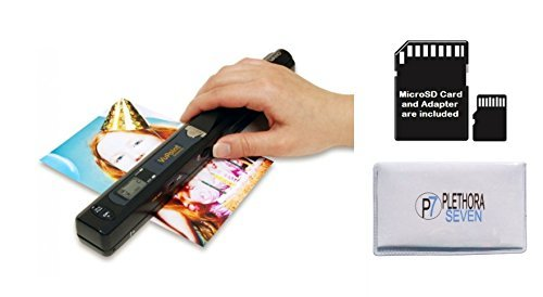VuPoint Solutions ST415 Handheld Magic Wand Portable Scanner Kit for Document and Image - with 8GB MicroSD Card and Exclusive Cleaning Cloth - OCR Software, JPG/PDF, 900DPI, Color/Mono