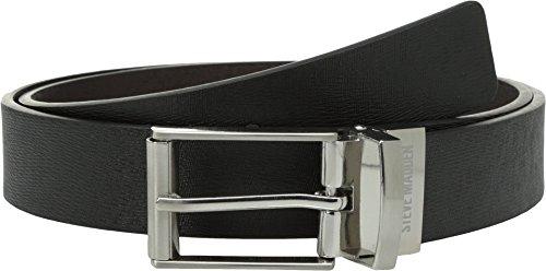 Steve Madden Belt - Steve Madden Mens 32mm Saffiano Reversible Belt Black/Brown 38 One Size