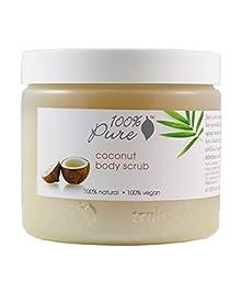 100% Pure: All Natural and Organic, Body Scrub - Coconut, 16 oz
