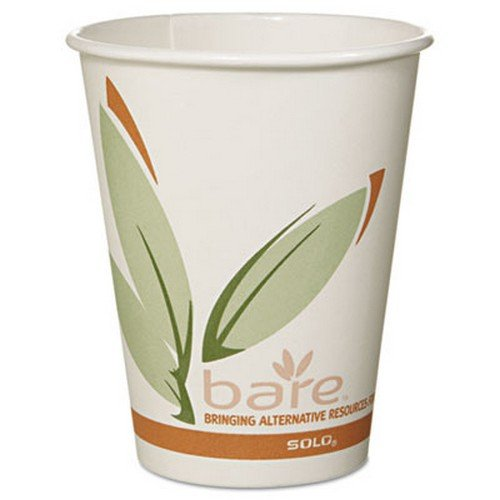 SLO378RC - Solo Bare EcoForward Recycled Content PCF Hot Cups