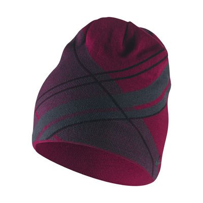 Nike Golf Reversible Knit Cap, Legacy Red/City Grey/Black, One Size by Nike Golf