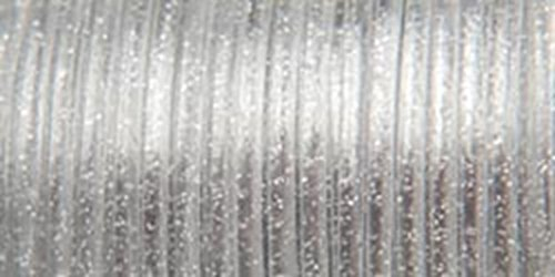 Rexlace Plastic Lace (Pepperell Rexlace Plastic Lace, 0.0938-Inch, Silver Sparkle)