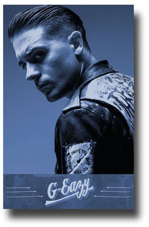 b172b9862fe G-Eazy Poster - When It s Dark Out Promo 11 x 17 -Blu by Concert Promoter   Amazon.in  Home   Kitchen