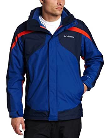 Columbia Men's Big Eager Air Interchange Jacket, Royal, 3X