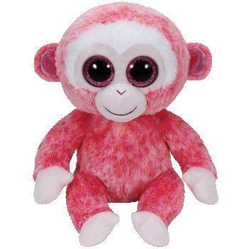 Ty Beanie baby, Ruby - The Monkey - Beanie Ruby Ty Baby