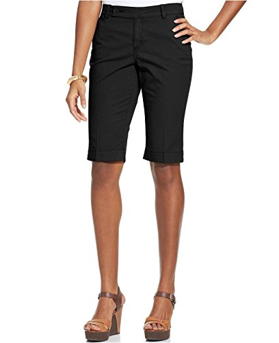 Style & Co. Womens Cuffed Flat Front Walking Bermuda Shorts 16 Plus ()