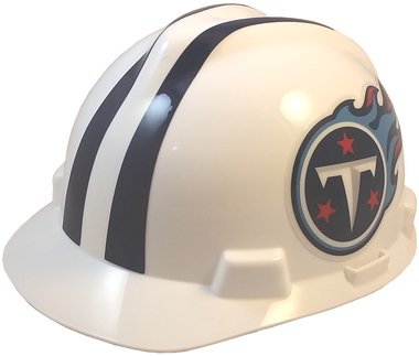 (MSA NFL Safety Hard Hats with Staz On Suspension - Tennessee Titans Hard Hats)