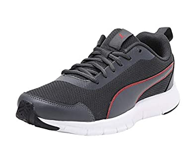 Puma Mens Hurdler Idp Dark Shadow-high Risk Red Sneakers