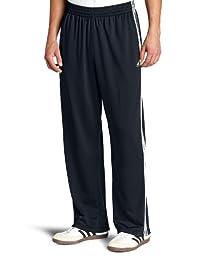 adidas Men\'s 3-Stripe Pant, Dark Navy/White, Large