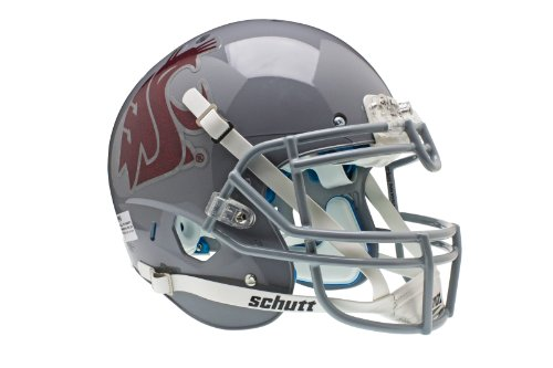 NCAA Washington State Cougars Authentic XP Football Helmet by Schutt