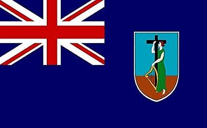 Amazon.com : Perfectflags Montserrat Flag 3ft x 2ft Medium - 100 ...