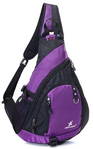 Violet Messenger Bag Umhängetasche Sporttasche Tasche Wasserdichte Tasche 18L XJrG9ZFUHP