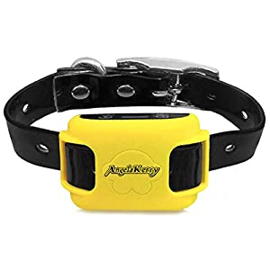 AngelaKerry Wireless Dog Fence System with GPS, NO Electric Shock, Outdoor Dog Containment System Rechargeable… Click on image for further info.