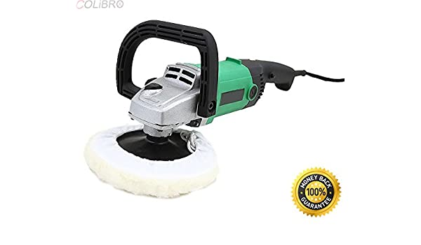 """New 7/"""" Electric Variable Speed Car Polisher Buffer Waxer Sander Detail Boat"""