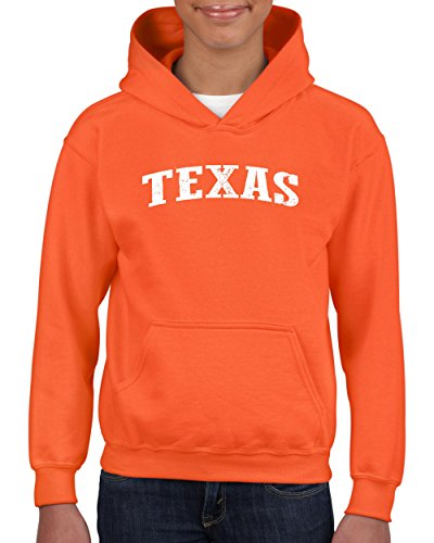 NIB TX Texas Flag Houston Map Longhorns Bobcats Home Texas State University Youth Hoodies - Shopping Texas Houston