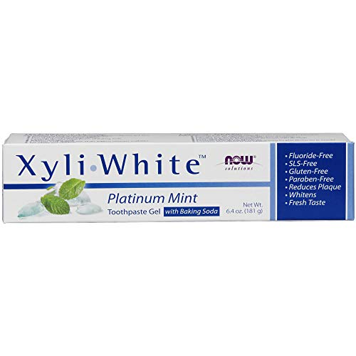 Now Solutions XyliWhite Platinum Mint Toothpaste Gel with Baking ()