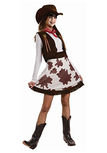 (Cowgirl Child Costume, Medium)