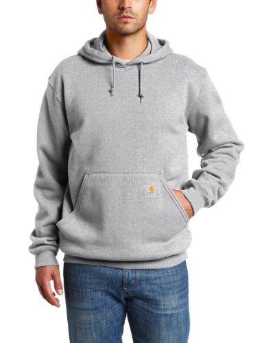 Carhartt K121 Men's Midweight Hooded Pullover Sweatshirt Carhartt Midweight Logo Hooded Pullover