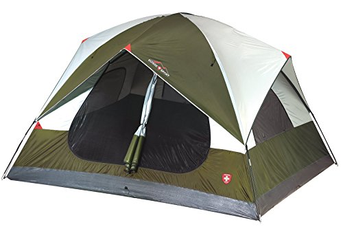 Suisse Sport Mammoth Tent - 6 Person Olive/Khaki